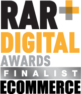RAR+ Digital Awards Finialist - eCommerce